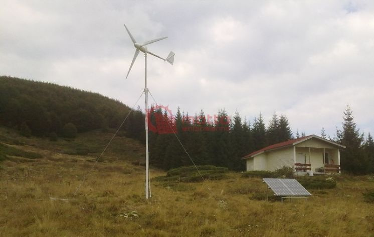 Off-grid hybrid power Station - National Park Central Balkan II