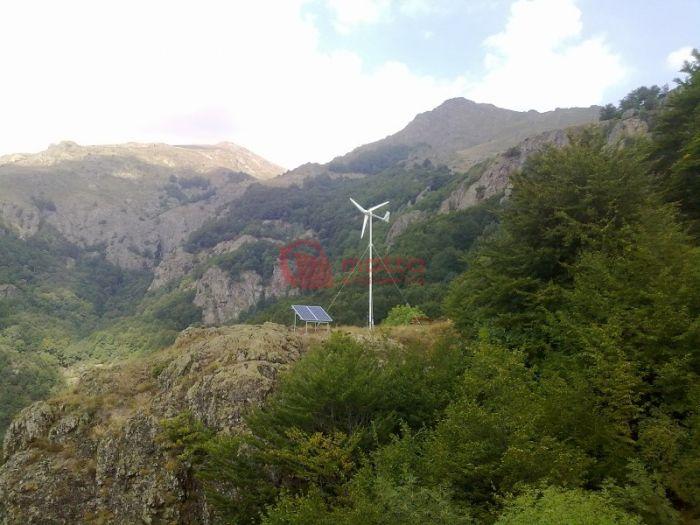 Off-grid hybrid power plant - National Park Central Balkan I